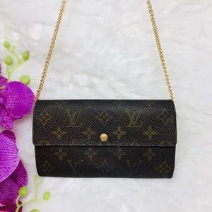 Authentic Preowned Louis Vuitton Sarah Wallet